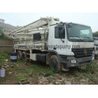 2007 zoomlion 37meter Truck Mounted Concrete Pum