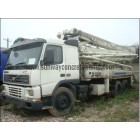 2002 zoomlion 37meter Truck Mounted Concrete Pump