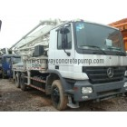 2004 zoomlion 37meter Truck Mounted Concrete Pump